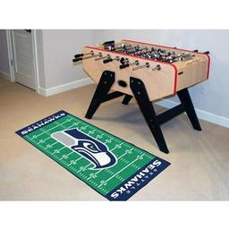 "Click here to learn more about the Seattle Seahawks Runner 30""x72""."
