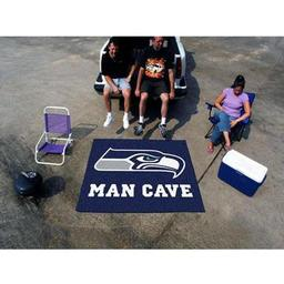Click here to learn more about the Seattle Seahawks Man Cave Tailgater Rug 5''x6''.
