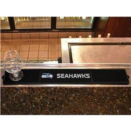 "Click here to learn more about the Seattle Seahawks Drink Mat 3.25""x24""."