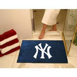 "Click here to learn more about the New York Yankees All-Star Mat 33.75""x42.5""."