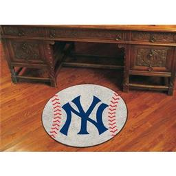"Click here to learn more about the New York Yankees Baseball Mat 27"" diameter."