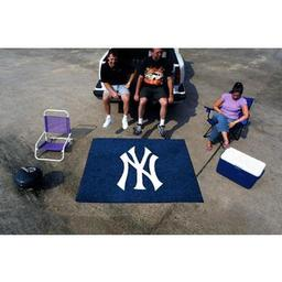 Click here to learn more about the New York Yankees Tailgater Rug 5''x6''.