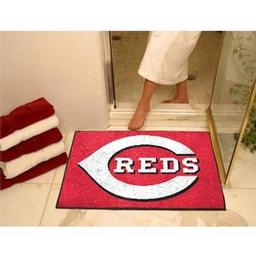 "Click here to learn more about the Cincinnati Reds All-Star Mat 33.75""x42.5""."