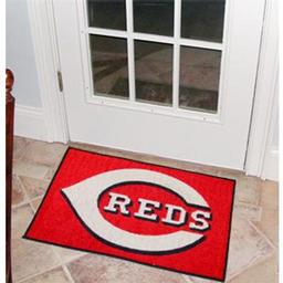 "Click here to learn more about the Cincinnati Reds Starter Rug 20""x30""."