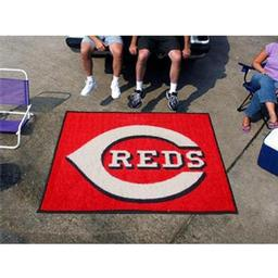 Click here to learn more about the Cincinnati Reds Tailgater Rug 5''x6''.