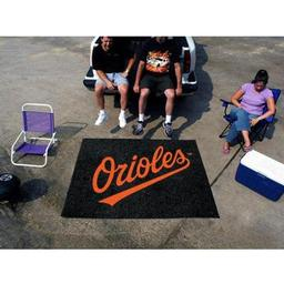 Click here to learn more about the Baltimore Orioles Tailgater Rug 5''x6''.