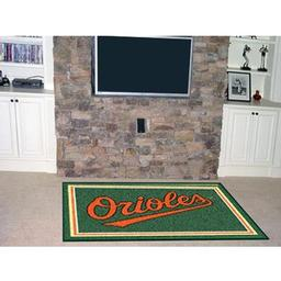 Click here to learn more about the Baltimore Orioles Rug 5''x8''.