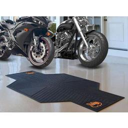 "Click here to learn more about the Baltimore Orioles Motorcycle Mat 82.5"" L x 42"" W."