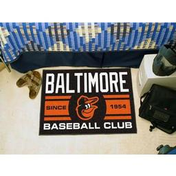"Click here to learn more about the ore Orioles Baseball Club Starter Rug 19""x30""."