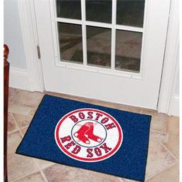 "Click here to learn more about the Boston Red Sox Starter Rug 20""x30""."