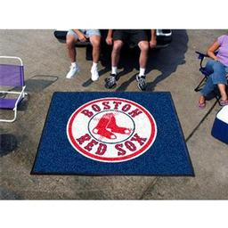Click here to learn more about the Boston Red Sox Tailgater Rug 5''x6''.