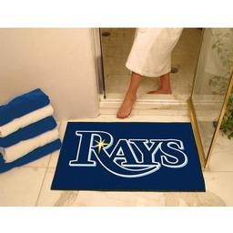 "Click here to learn more about the Tampa Bay Rays All-Star Mat 33.75""x42.5""."