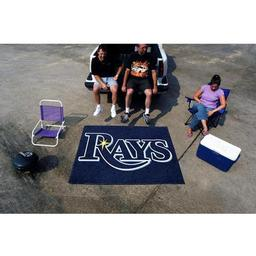Click here to learn more about the Tampa Bay Rays Tailgater Rug 5''x6''.