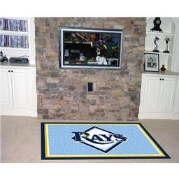 Click here to learn more about the Tampa Bay Rays Rug 4''x6''.