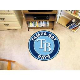 Click here to learn more about the Tampa Bay Rays Roundel Mat.