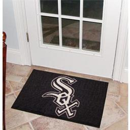 "Click here to learn more about the Chicago White Sox Starter Rug 20""x30""."