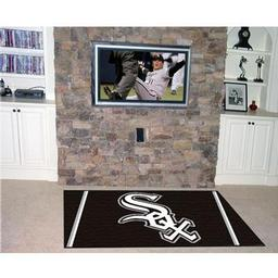 Click here to learn more about the Chicago White Sox Rug 4''x6''.
