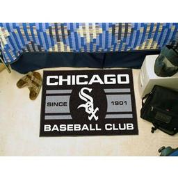 "Click here to learn more about the o White Sox Baseball Club Starter Rug 19""x30""."