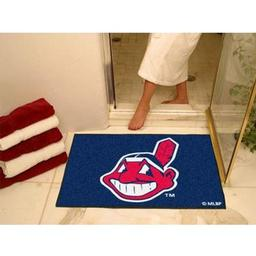 "Click here to learn more about the Cleveland Indians All-Star Mat 33.75""x42.5""."