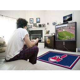 Click here to learn more about the Cleveland Indians Rug 4''x6''.