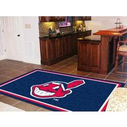 Click here to learn more about the Cleveland Indians Rug 5''x8''.