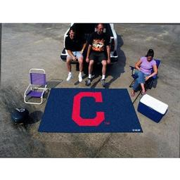 "Click here to learn more about the Cleveland Indians ""Block-C"" Ulti-Mat 5''x8''."