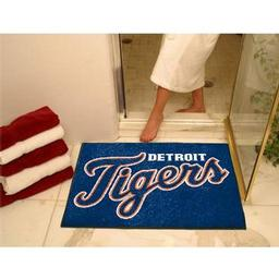 "Click here to learn more about the Detroit Tigers All-Star Mat 33.75""x42.5""."