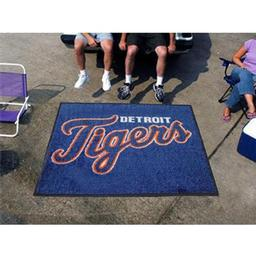 Click here to learn more about the Detroit Tigers Tailgater Rug 5''x6''.