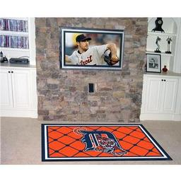Click here to learn more about the Detroit Tigers Rug 4''x6''.