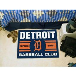 "Click here to learn more about the t Tigers Baseball Club Starter Rug 19""x30""."