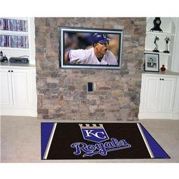 Click here to learn more about the Kansas City Royals Rug 5''x8''.