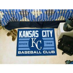"Click here to learn more about the City Royals Baseball Club Starter Rug 19""x30""."