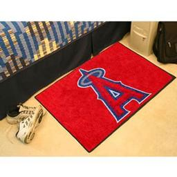 "Click here to learn more about the Los Angeles Angels Starter Rug 20""x30""."