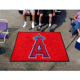Click here to learn more about the Los Angeles Angels Tailgater Rug 5''x6''.