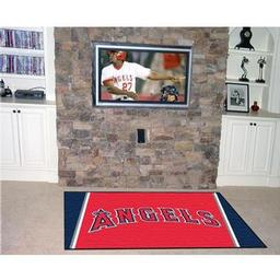 Click here to learn more about the Los Angeles Angels Rug 5''x8''.