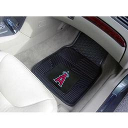 "Click here to learn more about the Los Angeles Angels Heavy Duty 2-Piece Vinyl Car Mats 17""x27""."