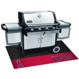 "Click here to learn more about the Los Angeles Angels Grill Mat 26""x42""."