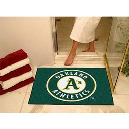 "Click here to learn more about the Oakland Athletics All-Star Mat 33.75""x42.5""."