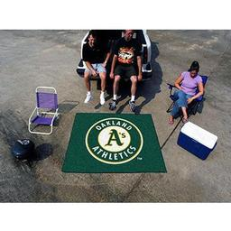 Click here to learn more about the Oakland Athletics Tailgater Rug 5''x6''.