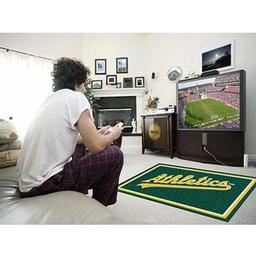 Click here to learn more about the Oakland Athletics Rug 4''x6''.