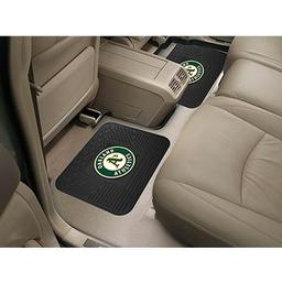 "Click here to learn more about the Oakland Athletics Backseat Utility Mats 2 Pack 14""x17""."