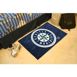 "Click here to learn more about the Seattle Mariners Starter Rug 20""x30""."