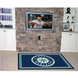 Click here to learn more about the Seattle Mariners Rug 5''x8''.