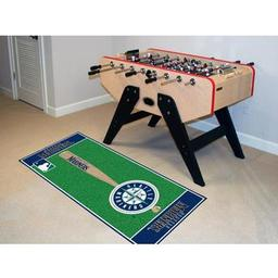 "Click here to learn more about the Seattle Mariners Baseball Runner 30""x72""."