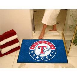 "Click here to learn more about the Texas Rangers All-Star Mat 33.75""x42.5""."
