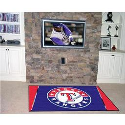 Click here to learn more about the Texas Rangers Rug 4''x6''.