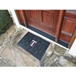 Click here to learn more about the Texas Rangers Medallion Door Mat.