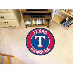 Click here to learn more about the Texas Rangers Roundel Mat.
