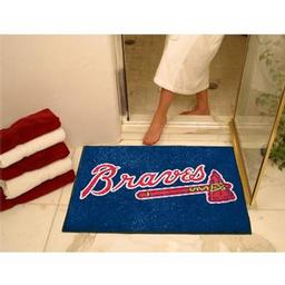 "Click here to learn more about the Atlanta Braves All-Star Mat 33.75""x42.5""."
