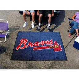 Click here to learn more about the Atlanta Braves Tailgater Rug 5''x6''.